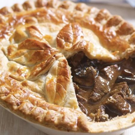 pie Ale and steak Ogden's