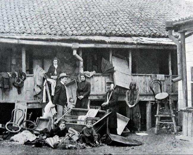 Russian pogroms tsar Ellis island