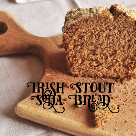 Irish stout soda bread